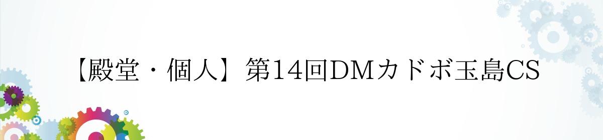 【殿堂・個人】第14回DMカドボ玉島CS