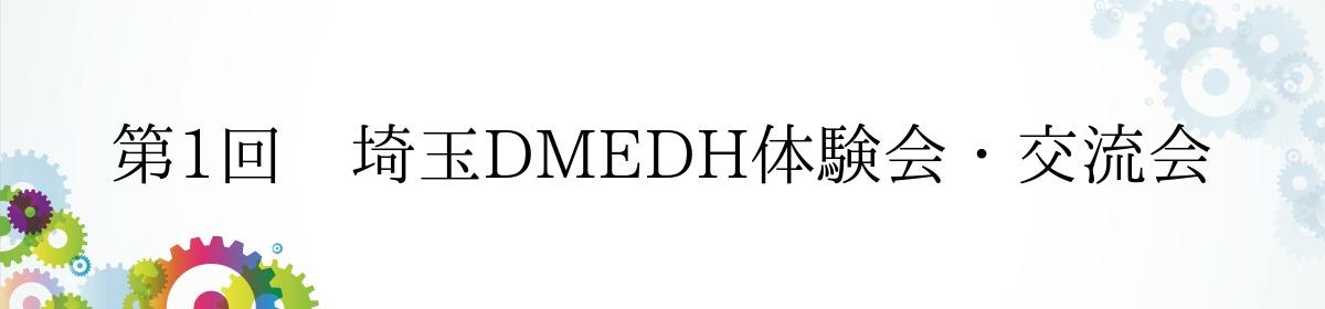 第1回 埼玉DMEDH体験会・交流会