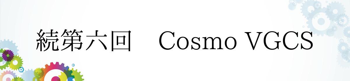続第六回 Cosmo VGCS