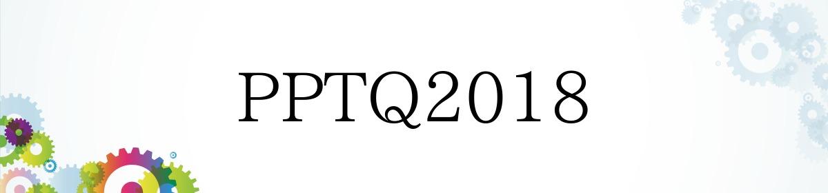 PPTQ2018