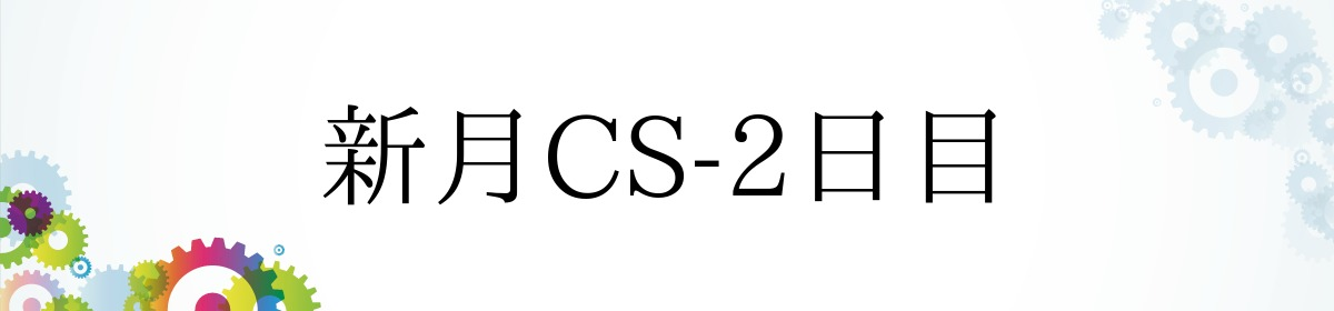 新月CS-2日目