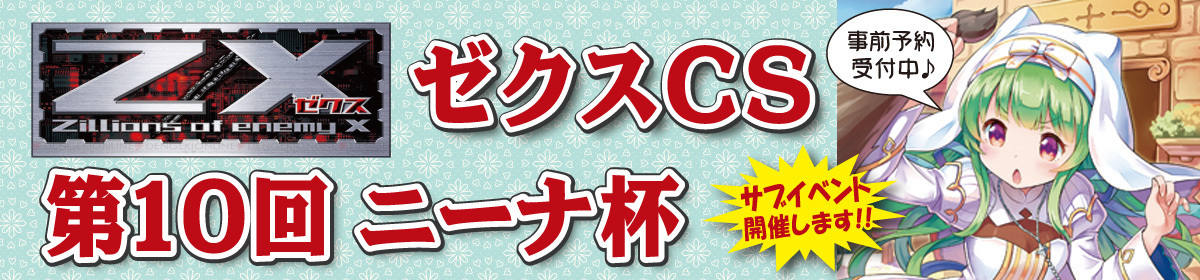 【第10回 Z/XCSニーナ杯】